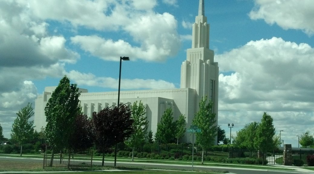 Do Mormon Temples Restore Biblical Christianity 4mormon